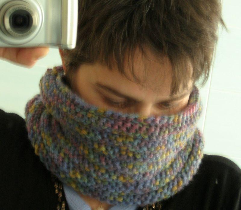 tricoter tour de cou homme