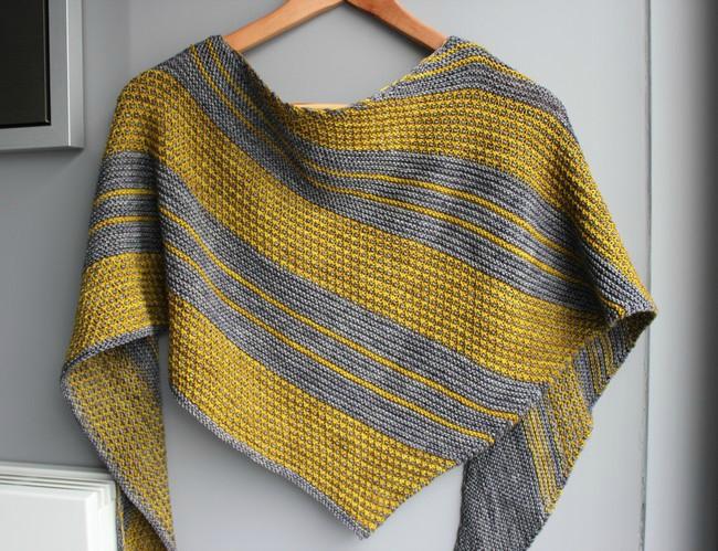 modele de chale gratuit au tricot