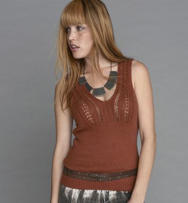 modèle tricot debardeur fille gratuit