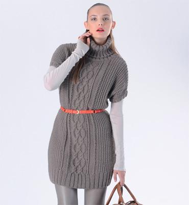 tricot robe laine