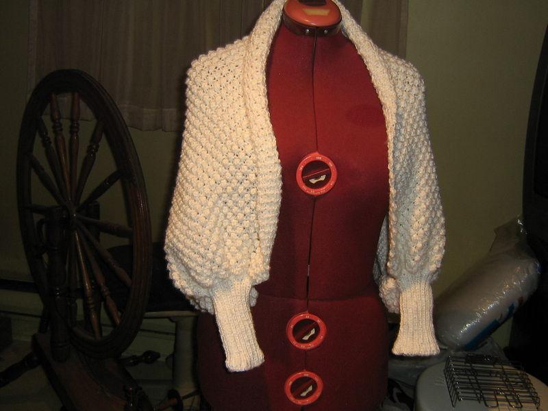 liseuse tricotee