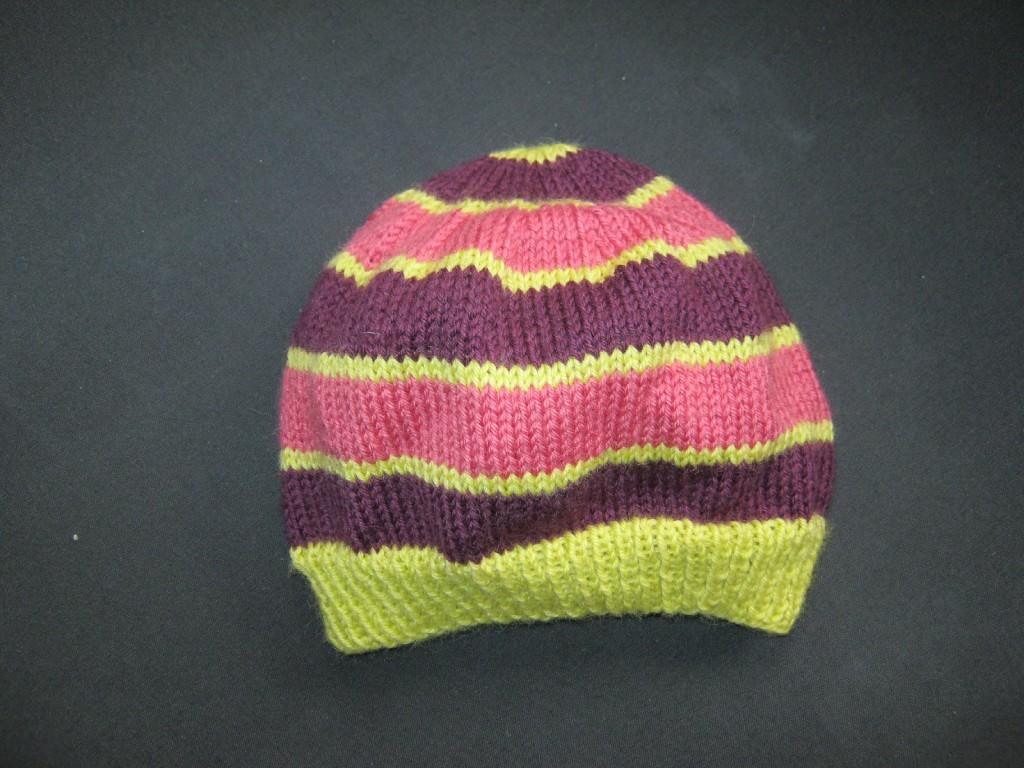 823d48463a2 création modèle tricot bonnet 12 mois