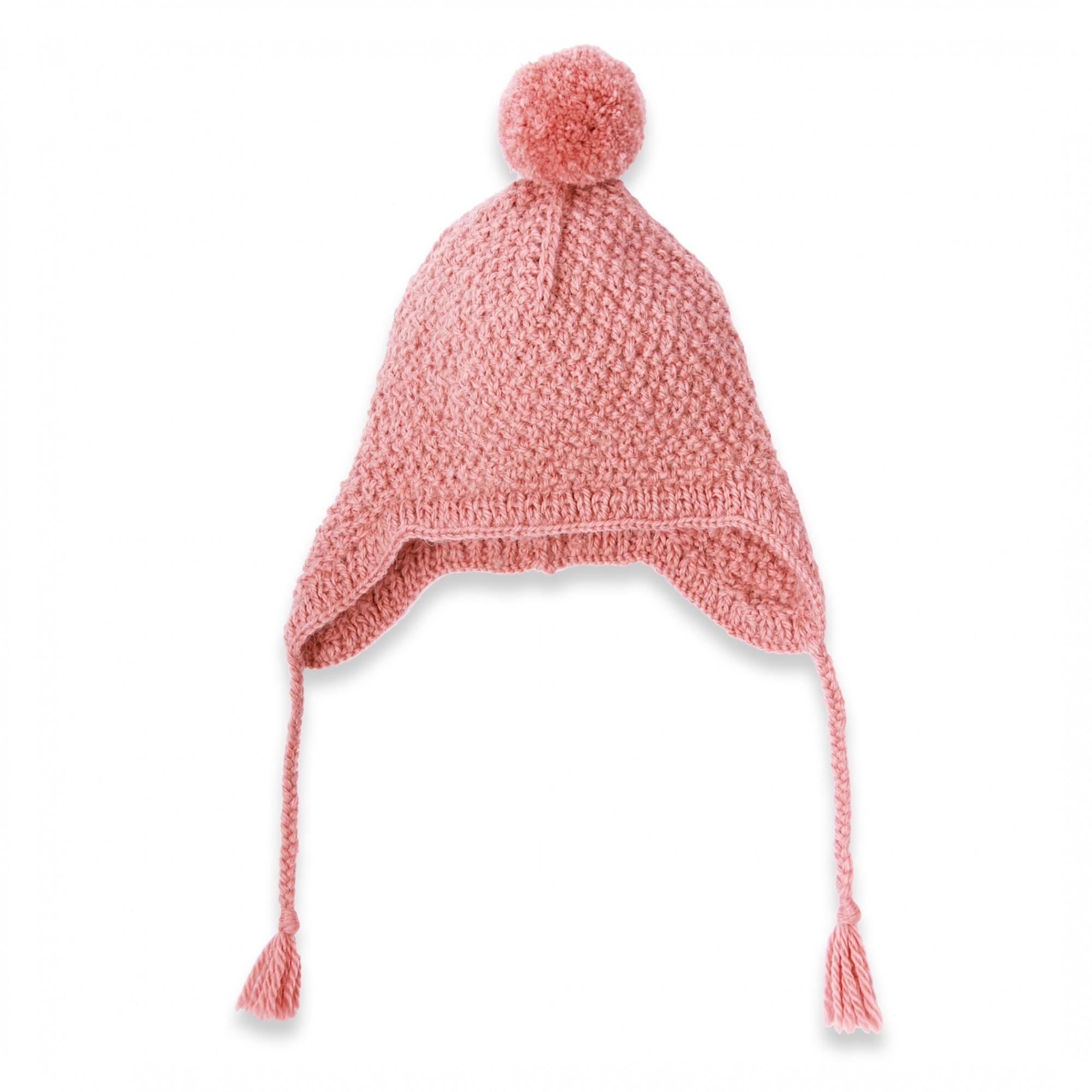 création modèle tricot bonnet peruvien naissance bouton source 5ade0caae11