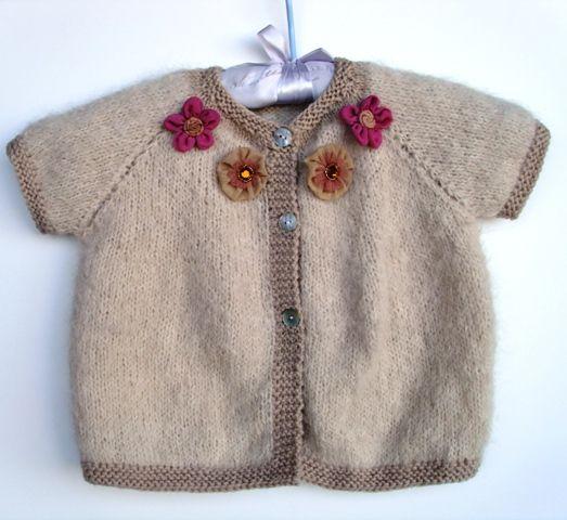 patron tricot pull bébé