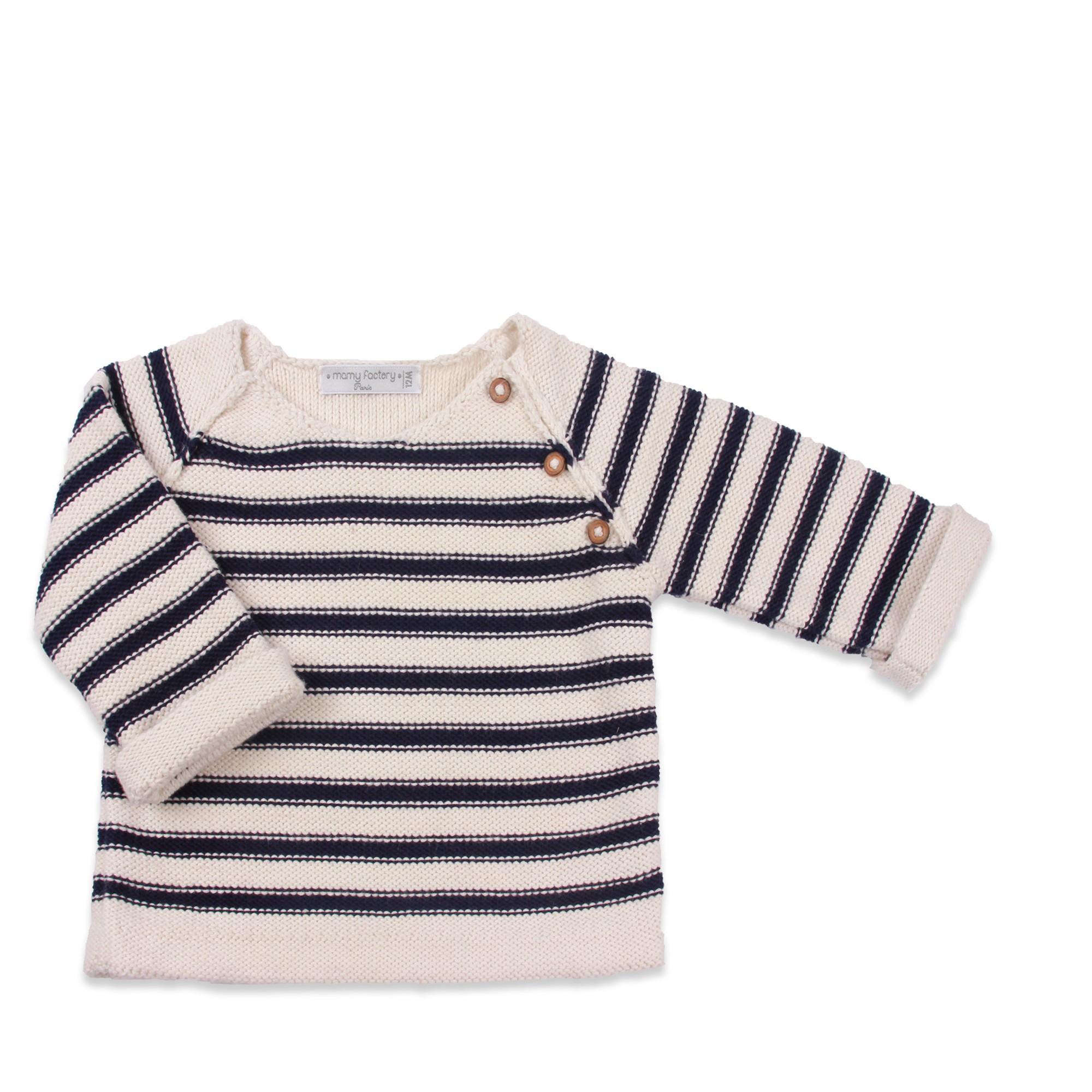 Pour les débutantes : Un modèle de pull pour fille ou garçon  La Malle aux