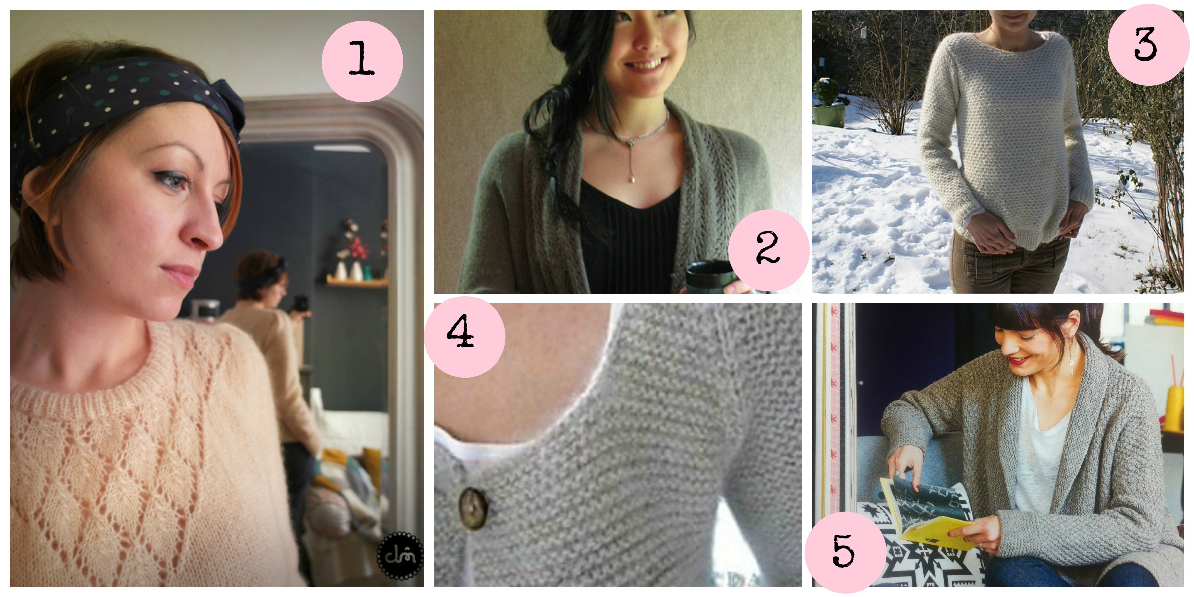 livre modele tricot femme
