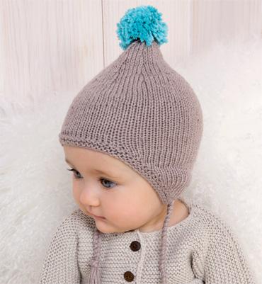 80019106b4bc patron tricoter bonnet de bébé