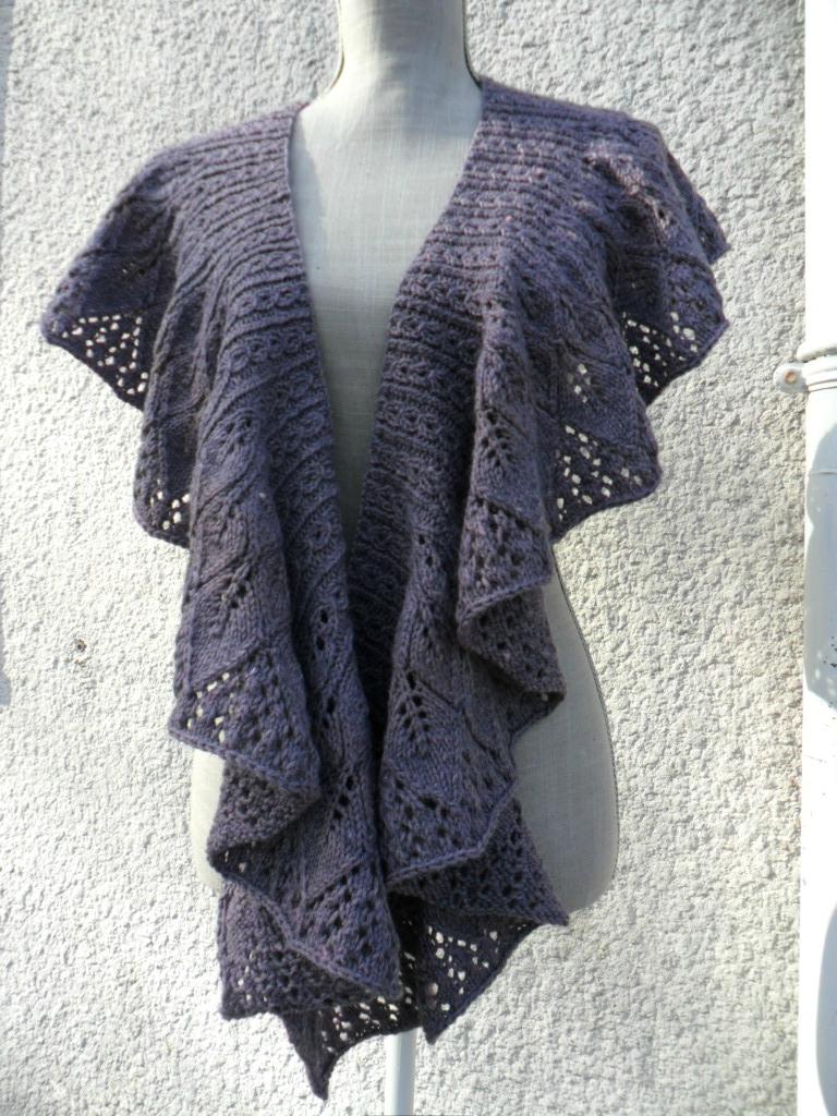 modele de chale a tricoter gratuit