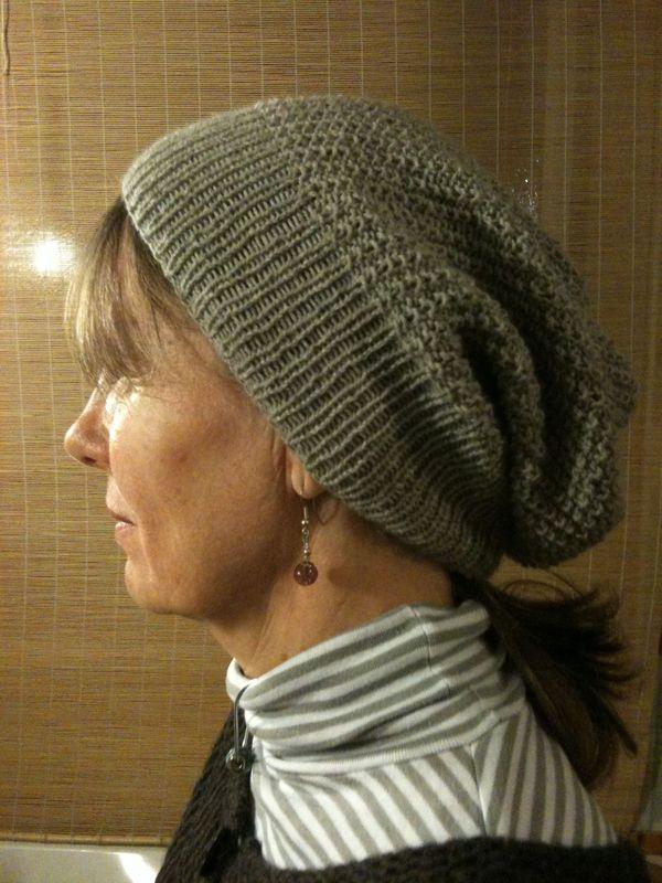 Explication patron tricoter bonnet femme - Modele tricot bonnet femme facile ...