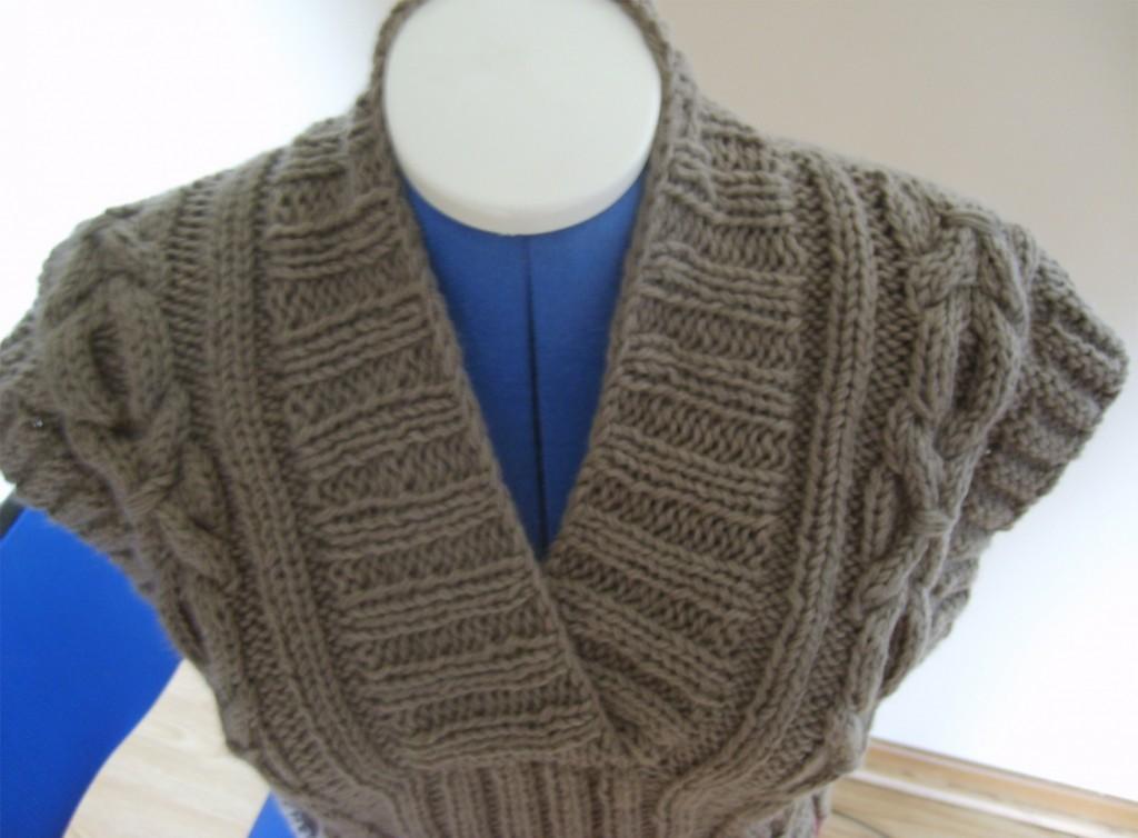 modèle pull tricot aiguilles 10