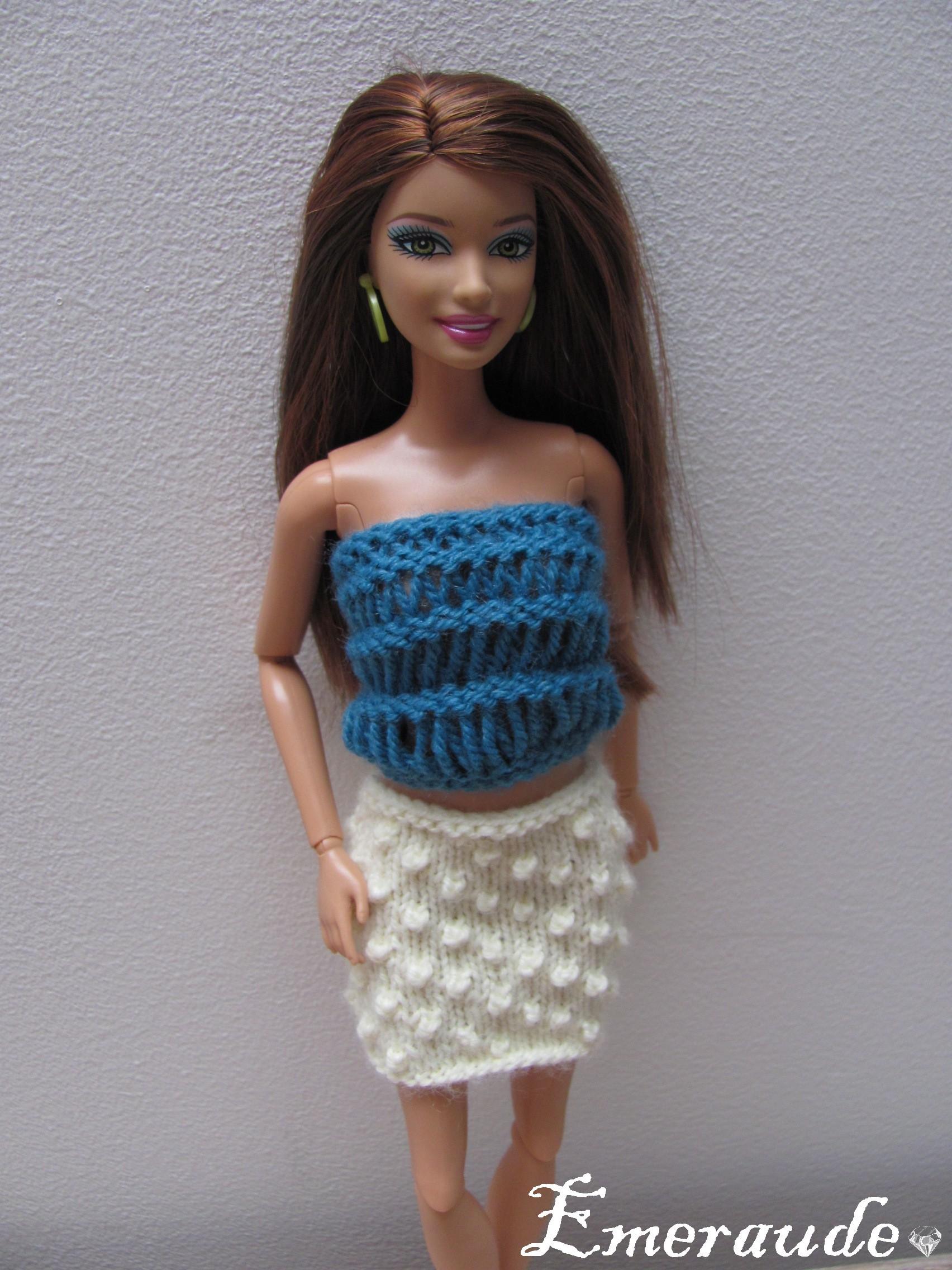 mod232le tricot barbie gratuit