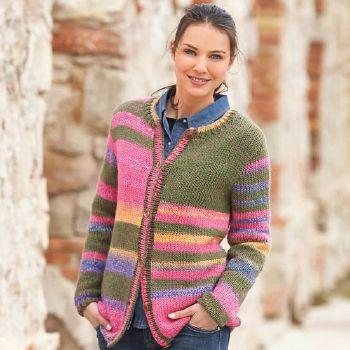 modele tricot gilet femme aiguille 5