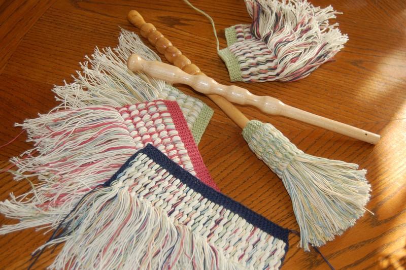 photo patron tricot linge a vaisselle