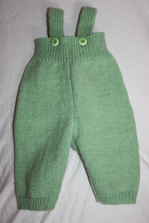 patron tricot pantalon bébé