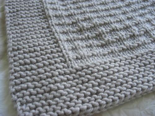 patron tricoter une couverture