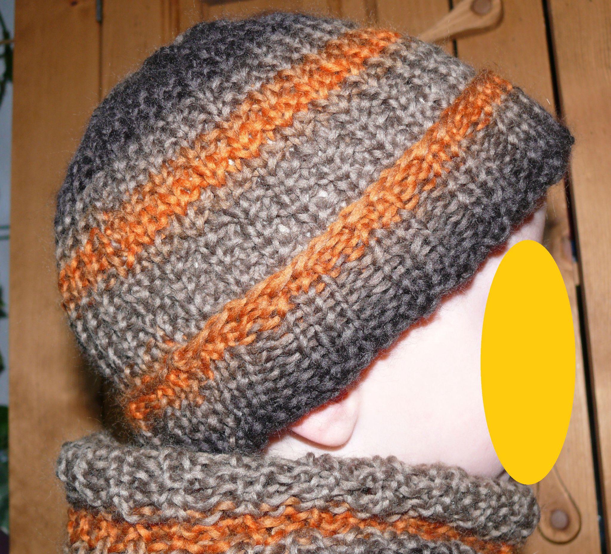 afad27295741 modèle tricot bonnet garcon 8 ans