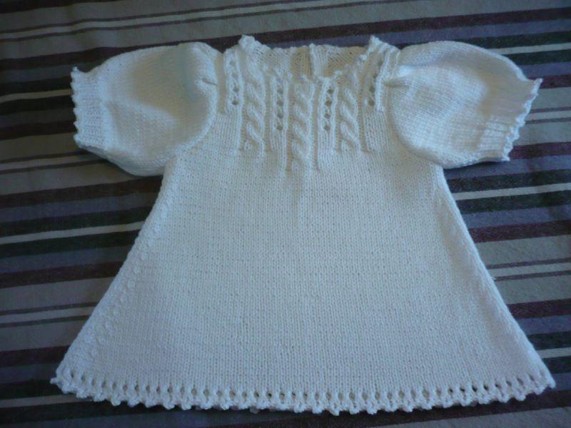 robe au tricot pour bebe