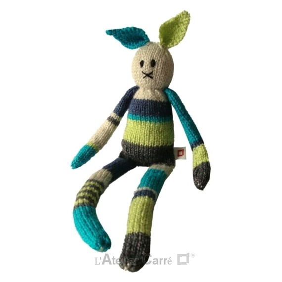 patron doudou en tricot