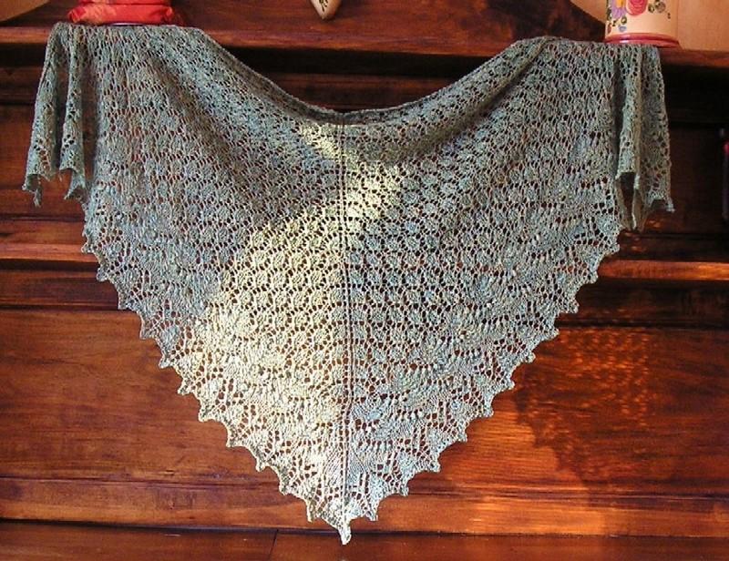 modèle chale tricot phildar
