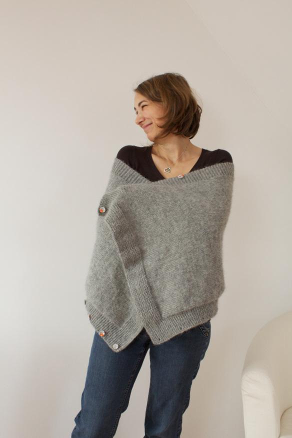 modele chale tricot phildar