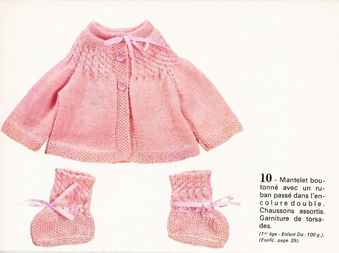 modele tricot bebe gratuit telecharger