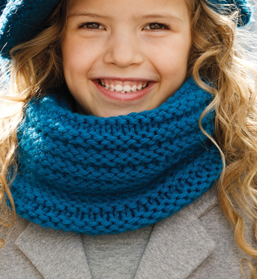 modele de snood gratuit phildar