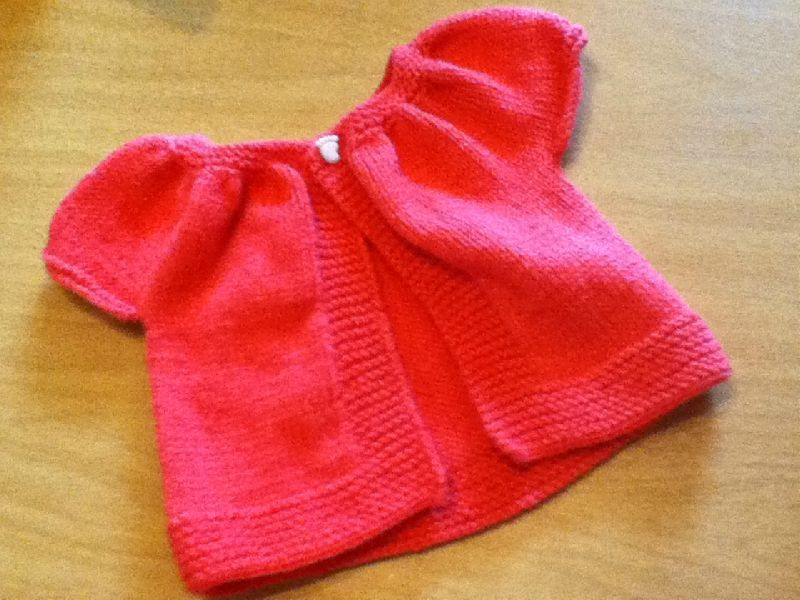 patron tricot bebe facile