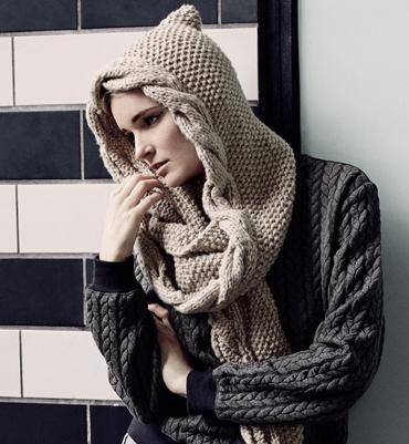 Aide modèle tricot echarpe capuche gratuit 07521fb2f57