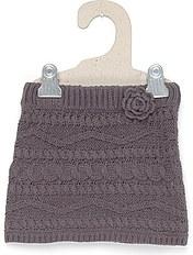 modèle tricot jupe fillette