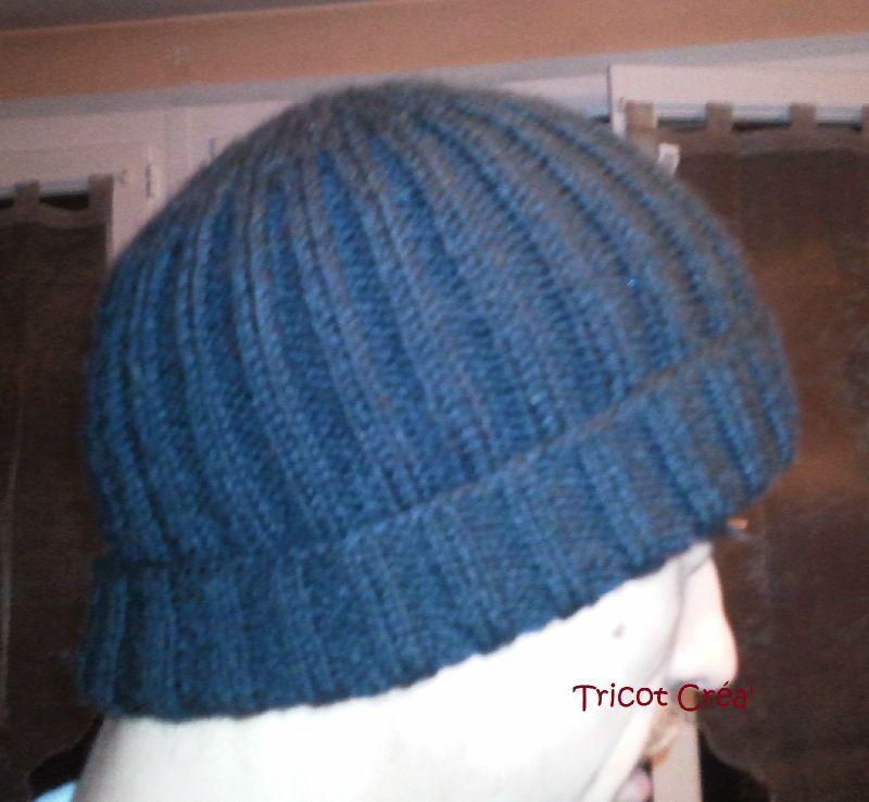 Tricot bonnet homme patron - Modele de bonnet a tricoter facile ...
