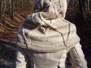 aperçu modèle tricot echarpe capuche gratuit 4c7bd84c816
