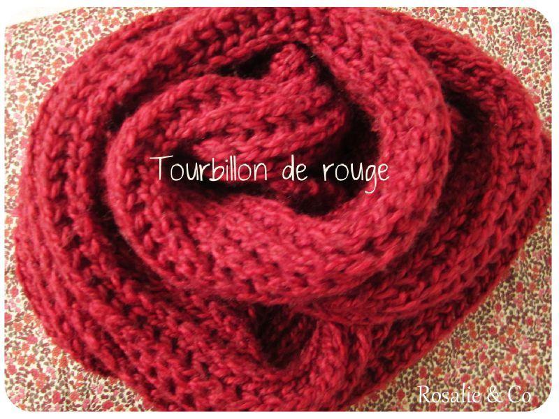tricoter une echarpe de laine