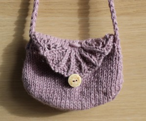 modele petit sac au tricot