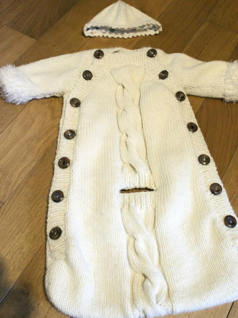 modèle tricot nid d ange pour siege auto