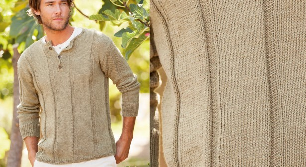 modèle tricot pull homme col camionneur