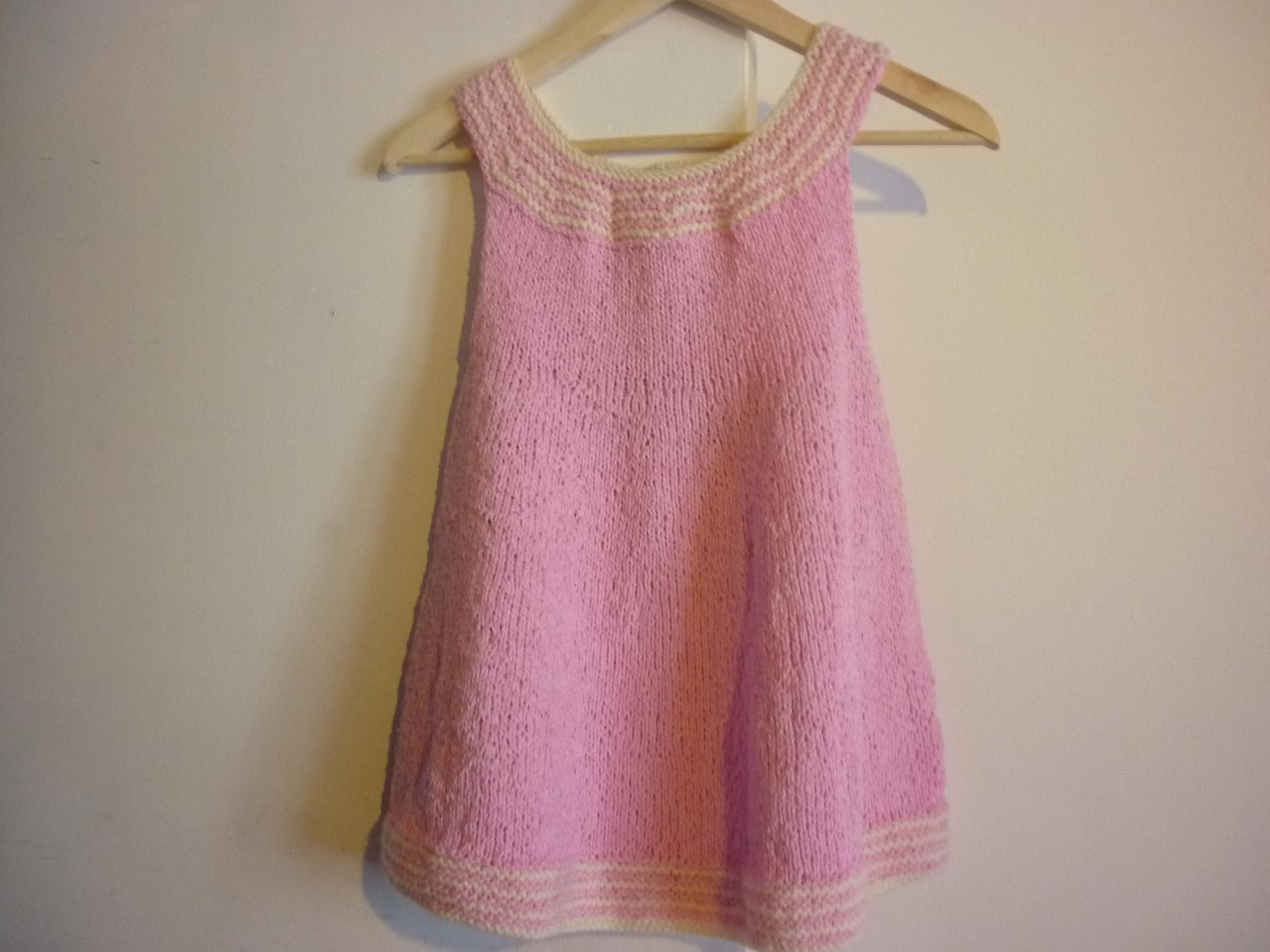 Tuto robe laine fille
