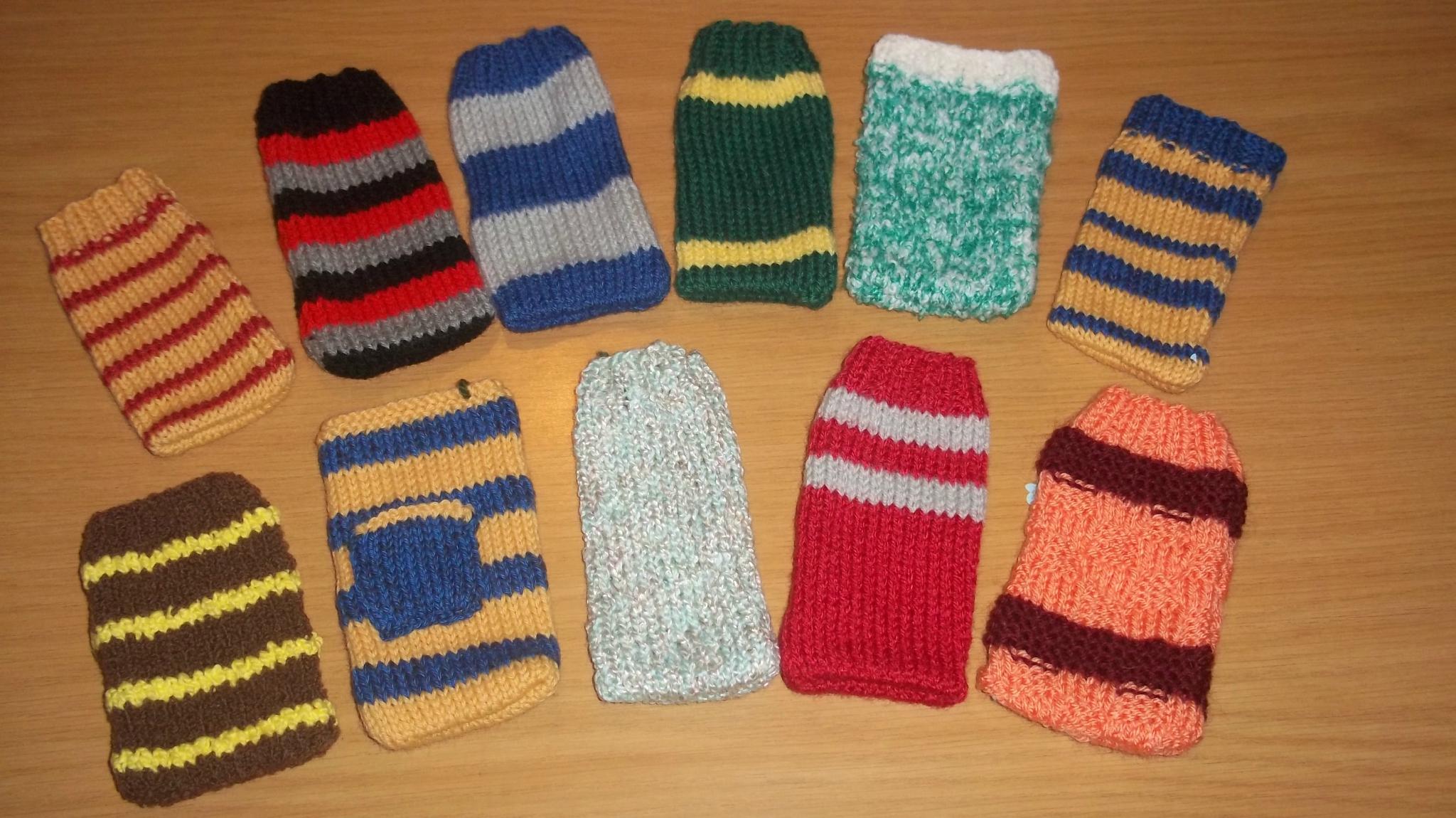 modele tricot chaussette pour portable