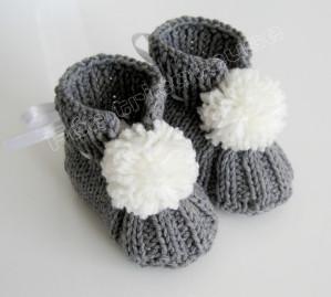modele de chausson au tricot