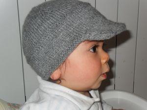 Tricoter une casquette  Selkis