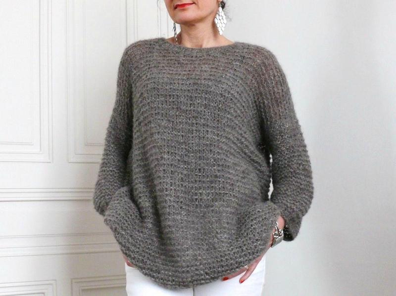 modele tricot laine drops