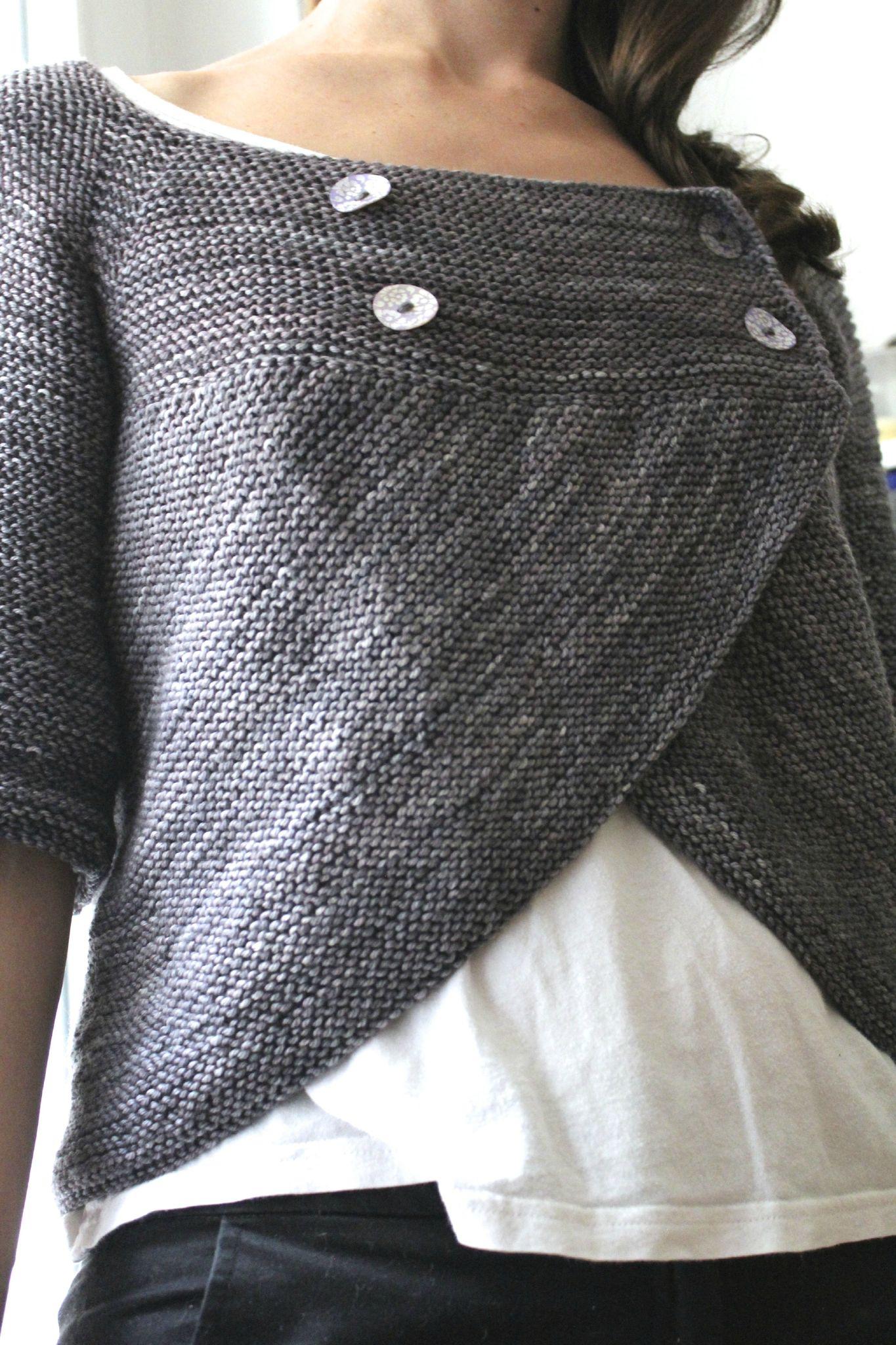 Mod le tricot - Faire une boutonniere au tricot ...