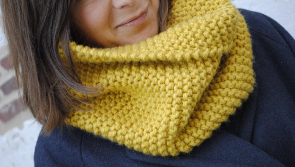 Patron tricot echarpe point mousse - Point de tricot ajoure pour echarpe ...