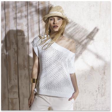 modèle tricot gratuit debardeur