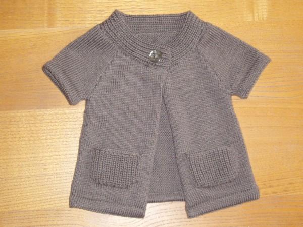 explication mod le tricot gilet sans manche fille gratuit. Black Bedroom Furniture Sets. Home Design Ideas