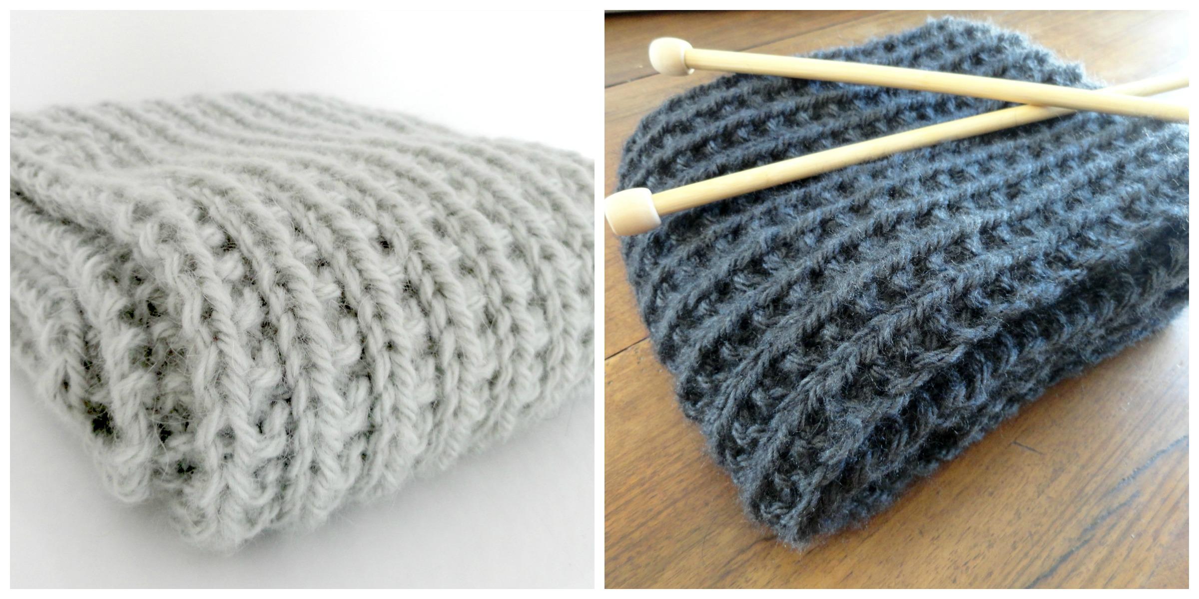 tricoter echarpe aiguille 9