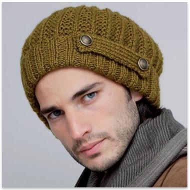 explication bonnet homme tricot