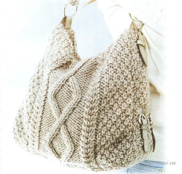 modèle sac tricot gratuit
