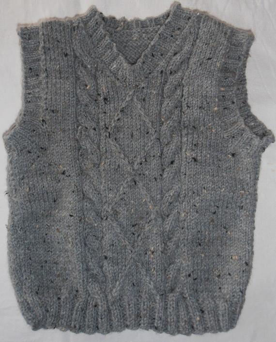 modèle tricot pull fille 4 ans