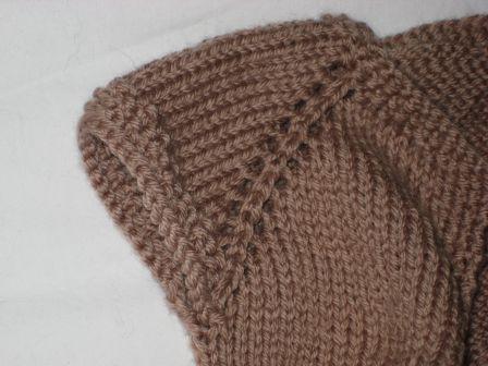 modèle bonnet tricot sans couture