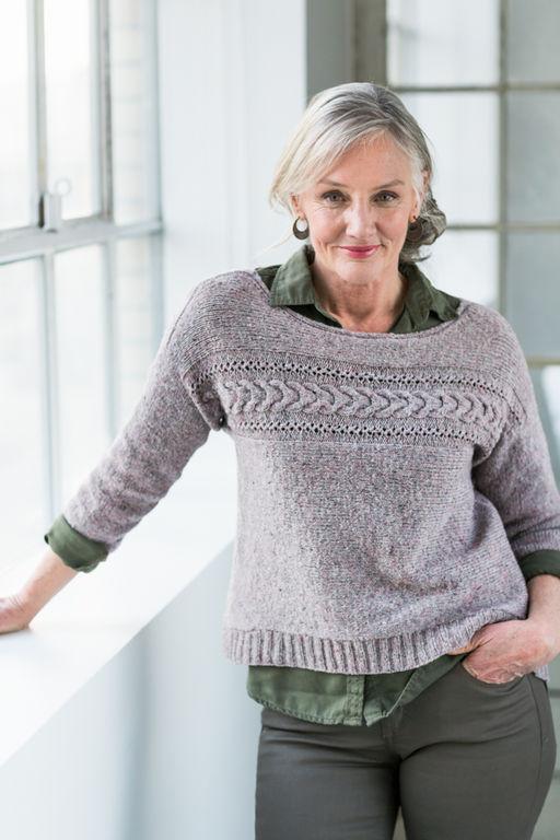 model de pull a tricoter pour femme